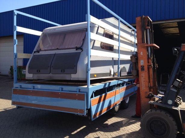 opbouw huif  Volvo L495 047