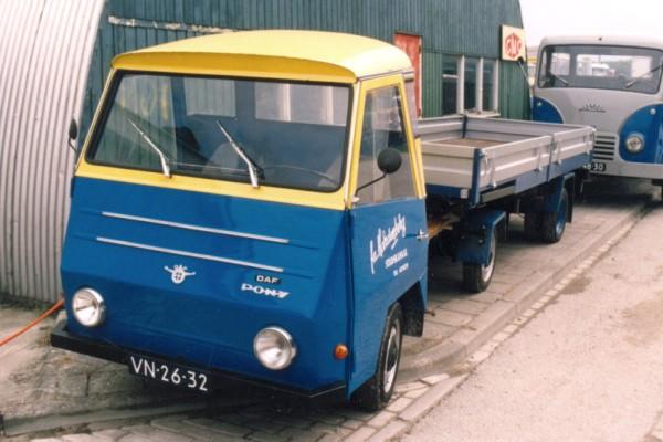 Goede DAF Pony Hardenberg – Veteranen Vrachtauto Vereniging Noord Nederland KI-69