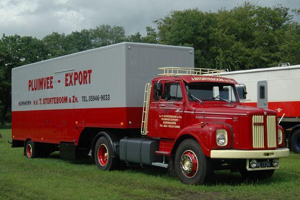 Storteboom  Kornhorn  BE-73-30   Scania L 110 Super  2