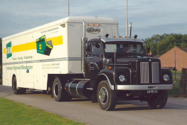 18e   Hoeksema  De Scania L-81 ergens onderweg 1